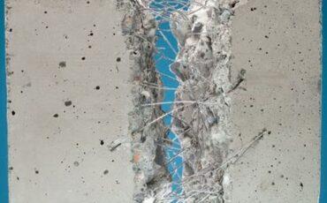 hormigón con fribra de acero