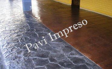pavimentación hormigón impreso