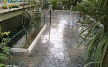 pavimento impreso para jardin