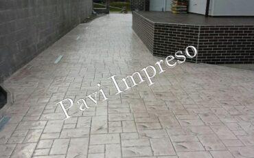 quitar las manchas pavimento impreso